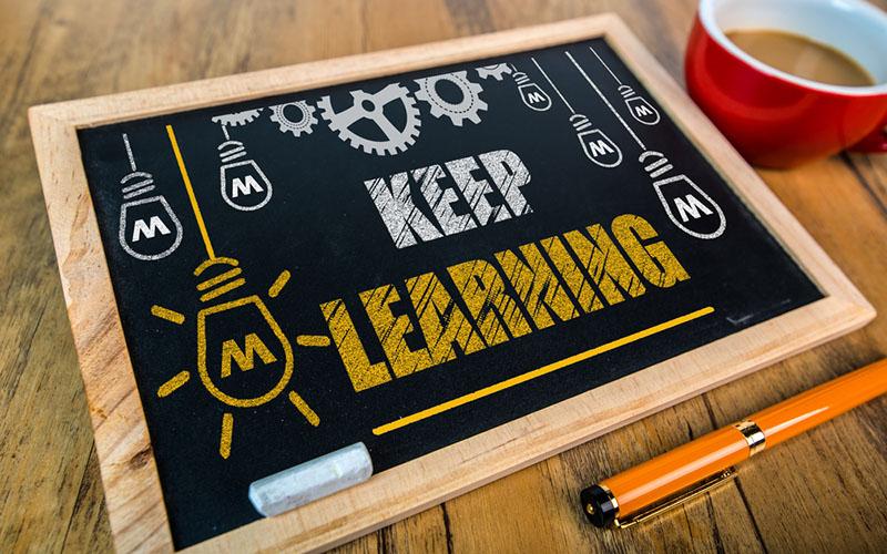 The Teacher Keeps Learning