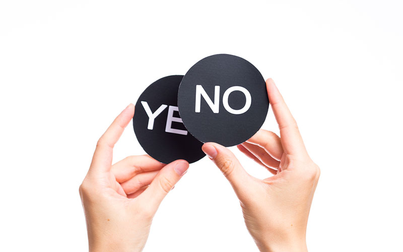 Know How to Say No