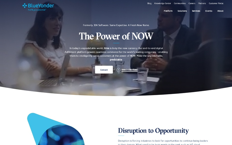 Introducing the New blueyonder.com