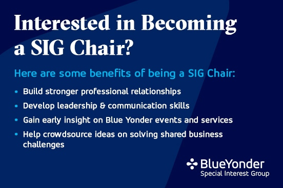 Interested in Becoming a SIG Chair