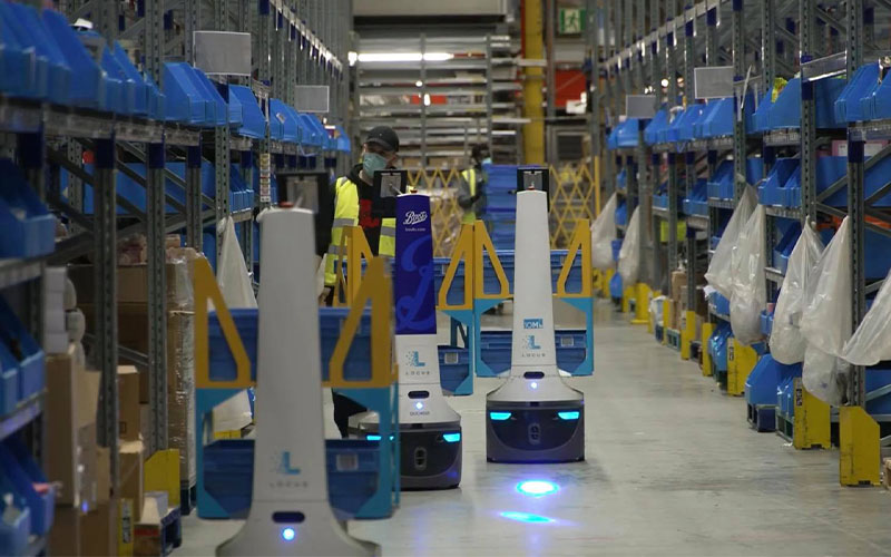 Retailers Are Changing Stores into Micro-fulfillment Centers with Robots