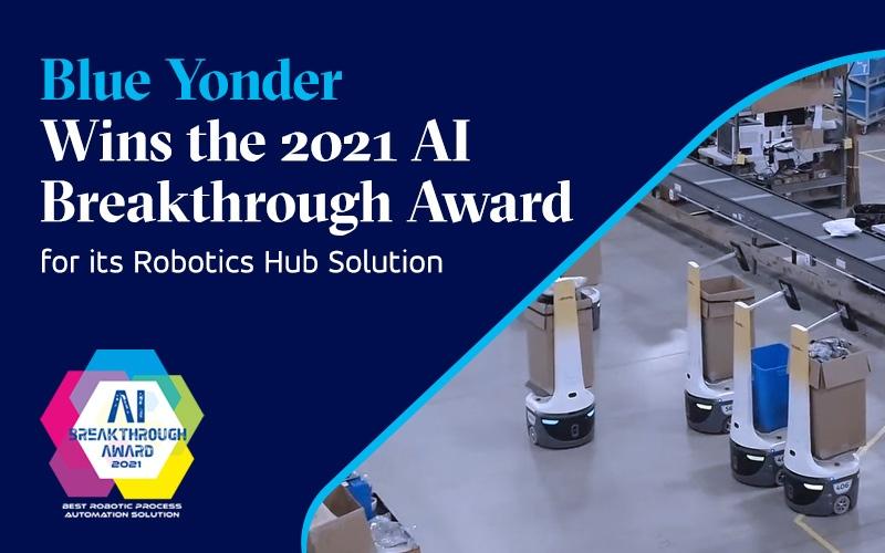 Blue Yonder Wins AI Breakthrough Award