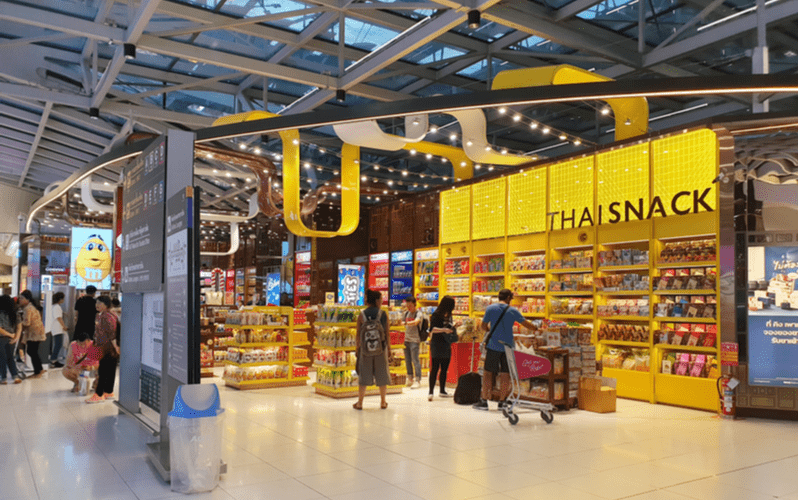 The Case of the Missing Airport Snacks